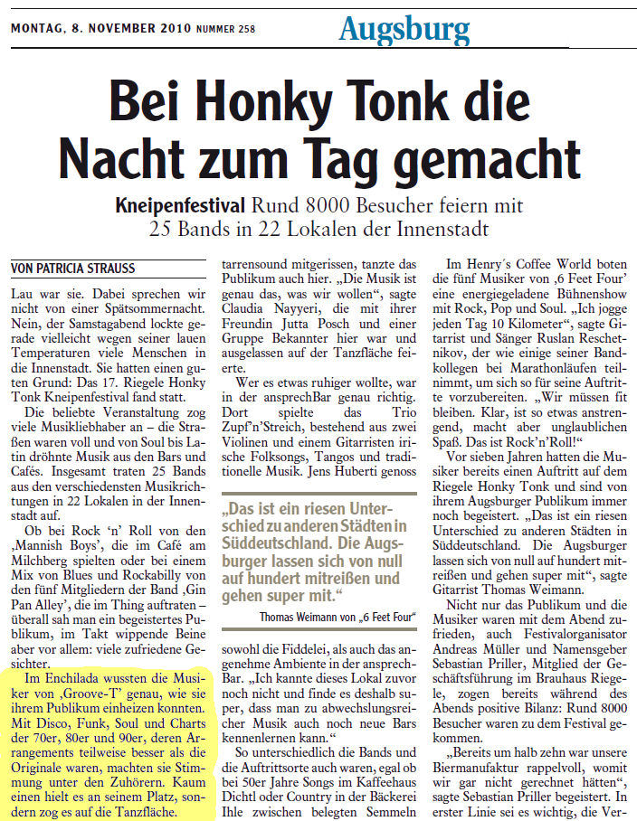 2010 Augsburg Presse