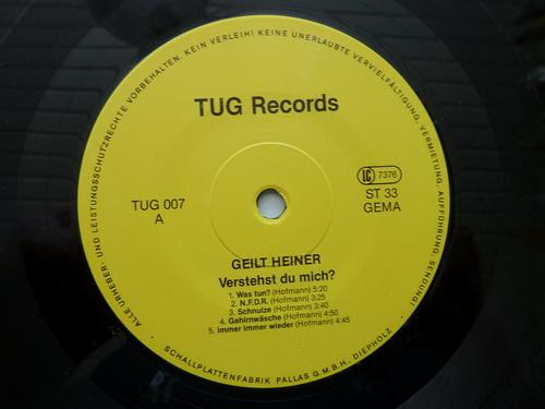 Geilt Heiner LP Side A